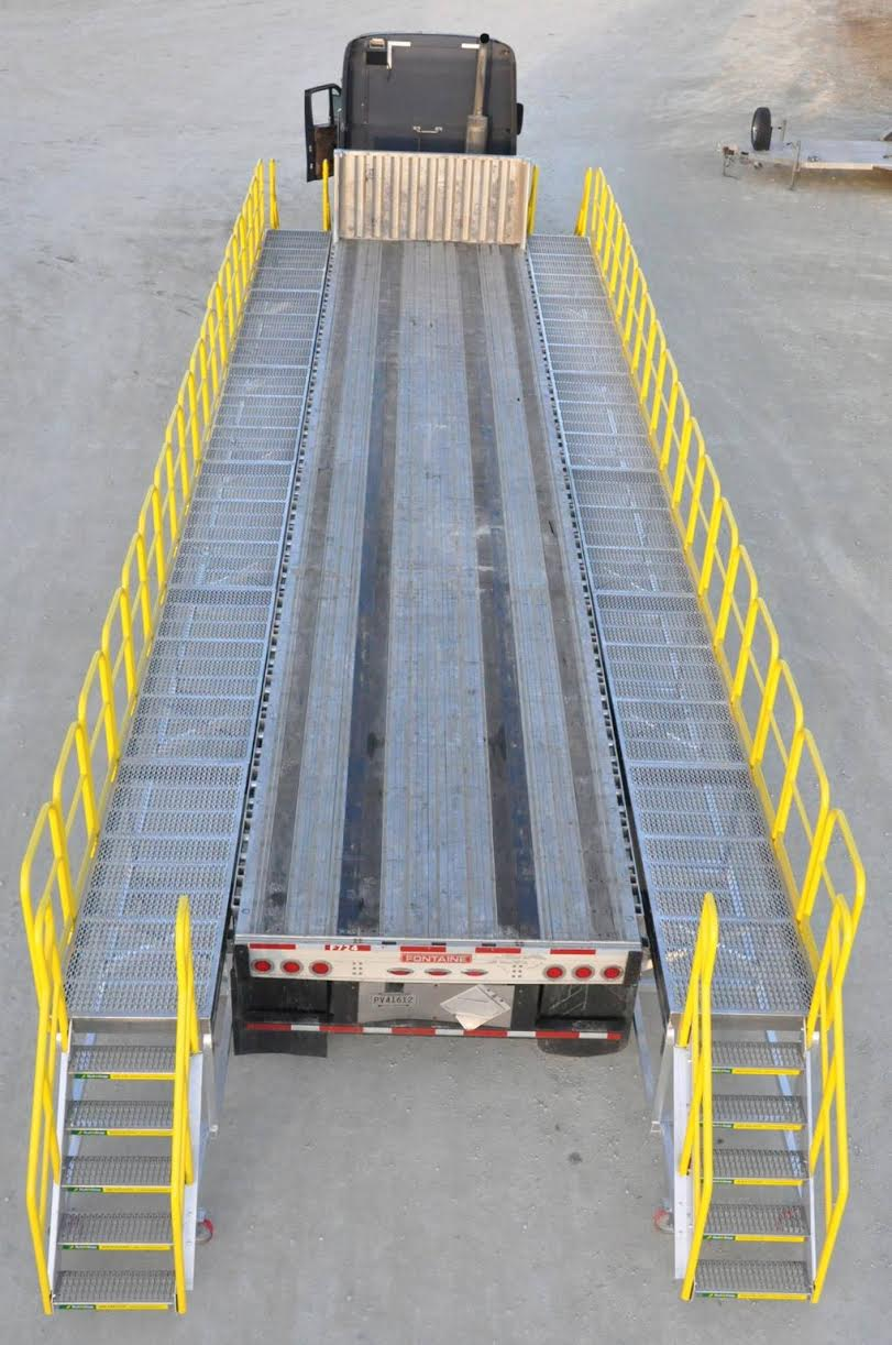 Flatbed Truck Fall Protection