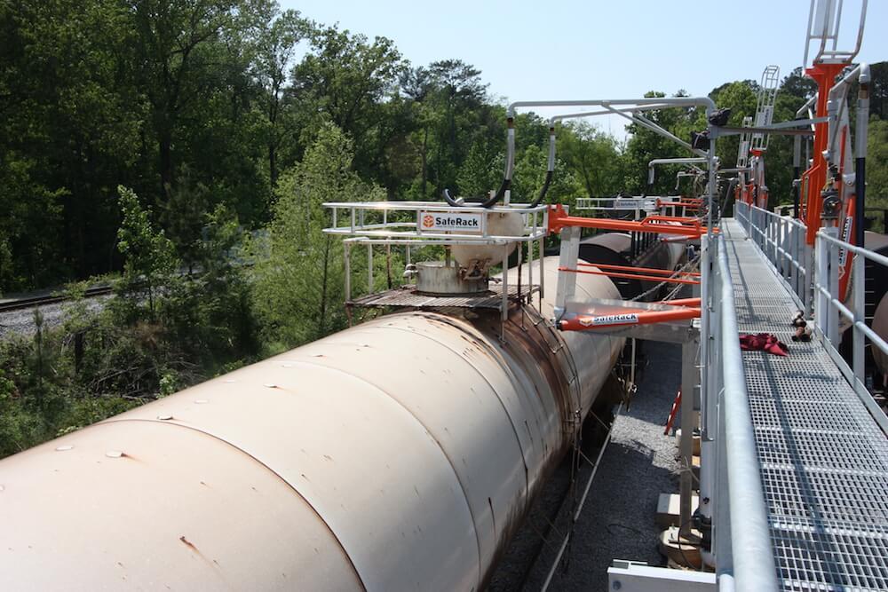 Railcar Gangway w/ Railroad Clearance