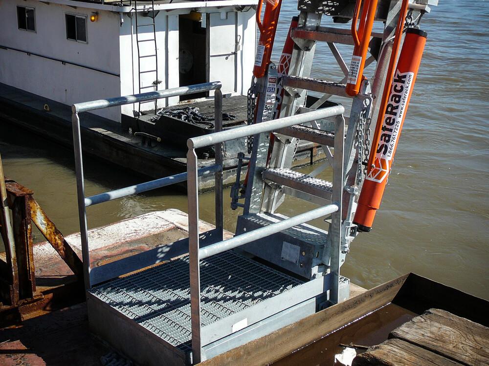 Aluminum Dock Ramp Gangway