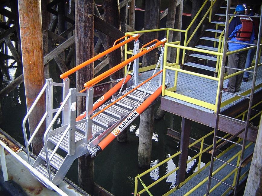 Aluminum Loading Dock Walkway Gangway