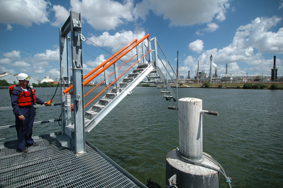 Barge Ship And Marina Style Access Gangways Saferack