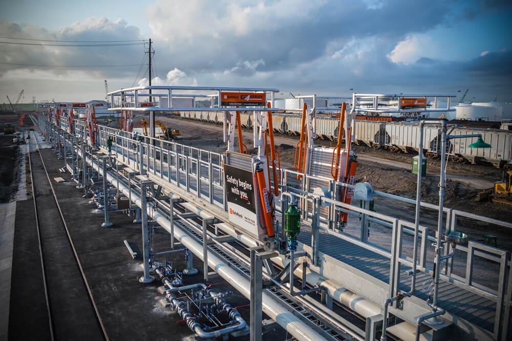 Loading Platform Gangway System