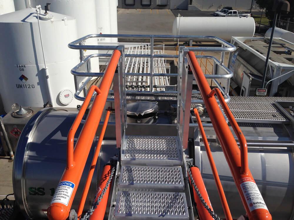 Tanker Truck Self-Adjusting Stairs Gangway