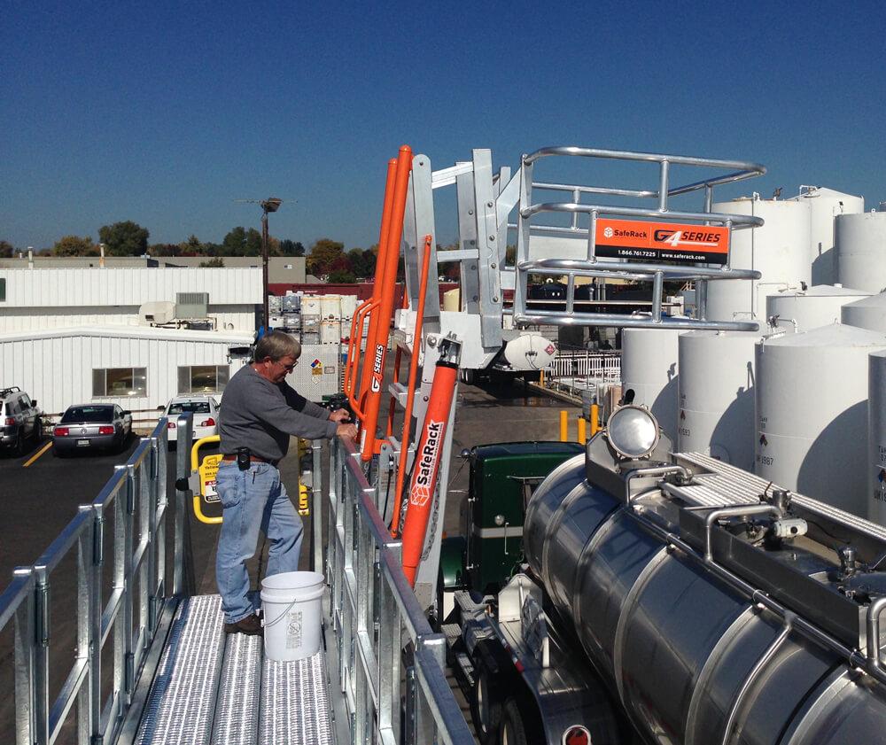 Truck Unloading Access Gangway