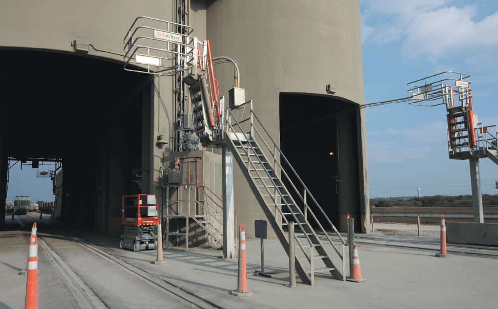 Cement Plant Truck Platform