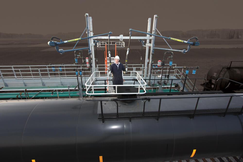 LPG Railcar Loading System w/ Loading Arm