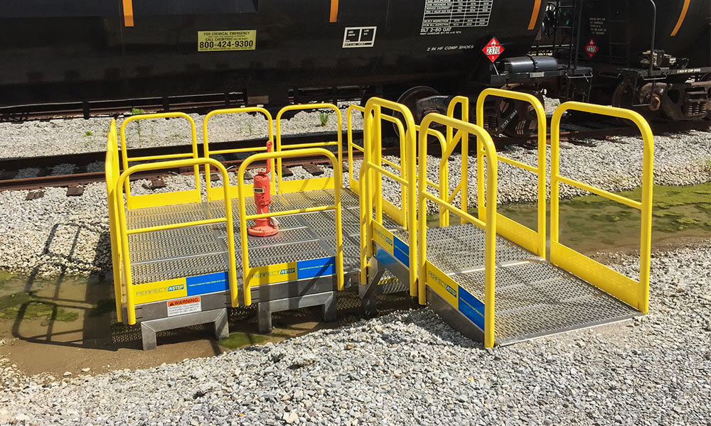 Work Platform Metal Handrail