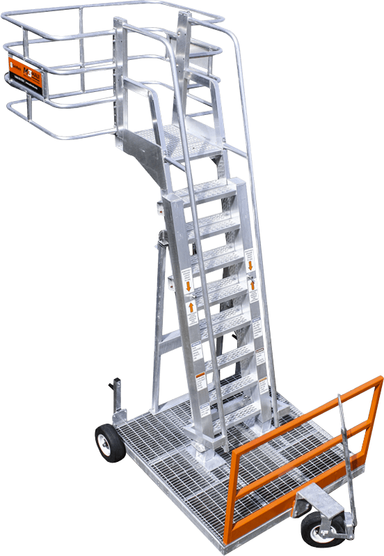 Mobile Work Platform with Fall Protection