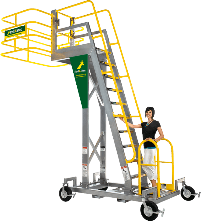 Rollastep Mobile Work Platforms Saferack