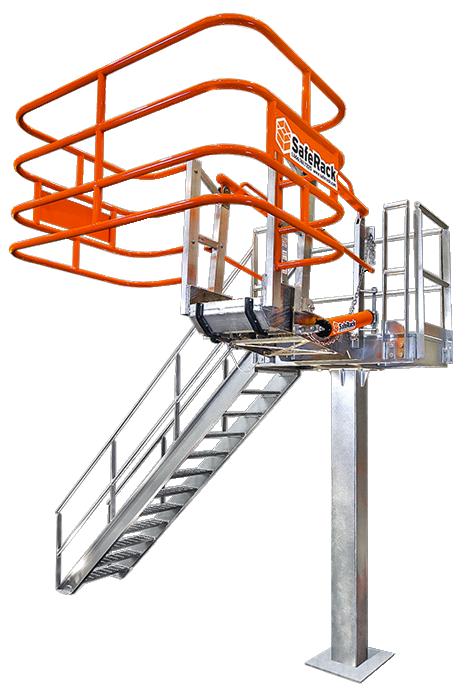 3x5 truck loading platform